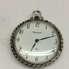 Relojes de bolsillo: RELOJ DE PLATA THERMIDOR PARIS. Lote 130310306