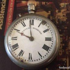 Relojes de bolsillo: RELOJ PATENT ROSKOPF GRANDE (55 MM) PARA DONANTE O REPARACION. Lote 130476750