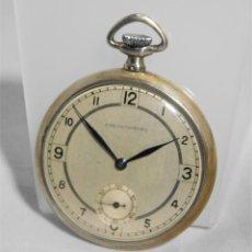 Relojes de bolsillo: CHRONOMETRE-RELOJ DE BOLSILLO -FRANCIA-2 TAPAS-CIRCA 1930-FUNCIONANDO-. Lote 130794936