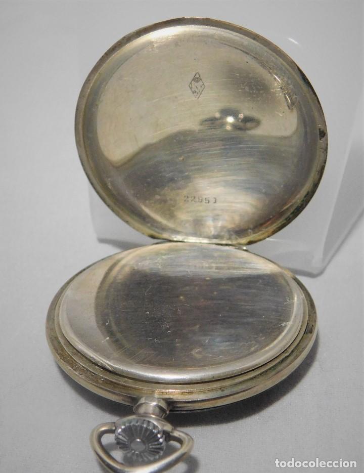 Relojes de bolsillo: CHRONOMETRE-RELOJ DE BOLSILLO -FRANCIA-2 TAPAS-CIRCA 1930-FUNCIONANDO- - Foto 2 - 130794936