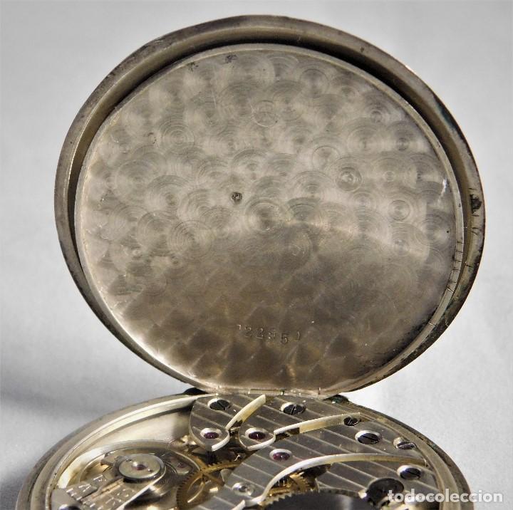 Relojes de bolsillo: CHRONOMETRE-RELOJ DE BOLSILLO -FRANCIA-2 TAPAS-CIRCA 1930-FUNCIONANDO- - Foto 4 - 130794936
