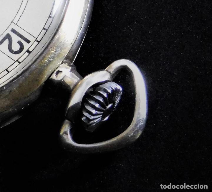 Relojes de bolsillo: CHRONOMETRE-RELOJ DE BOLSILLO -FRANCIA-2 TAPAS-CIRCA 1930-FUNCIONANDO- - Foto 5 - 130794936