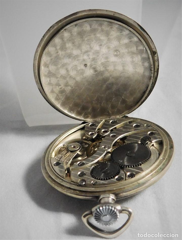 Relojes de bolsillo: CHRONOMETRE-RELOJ DE BOLSILLO -FRANCIA-2 TAPAS-CIRCA 1930-FUNCIONANDO- - Foto 11 - 130794936