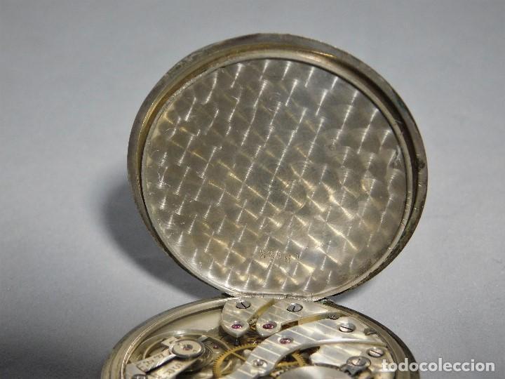 Relojes de bolsillo: CHRONOMETRE-RELOJ DE BOLSILLO -FRANCIA-2 TAPAS-CIRCA 1930-FUNCIONANDO- - Foto 12 - 130794936