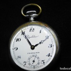 Relojes de bolsillo: REGULATEUR-RELOJ DE BOLSILLO-FRANCIA-CIRCA 1910-FUNCIONANDO. Lote 130796096
