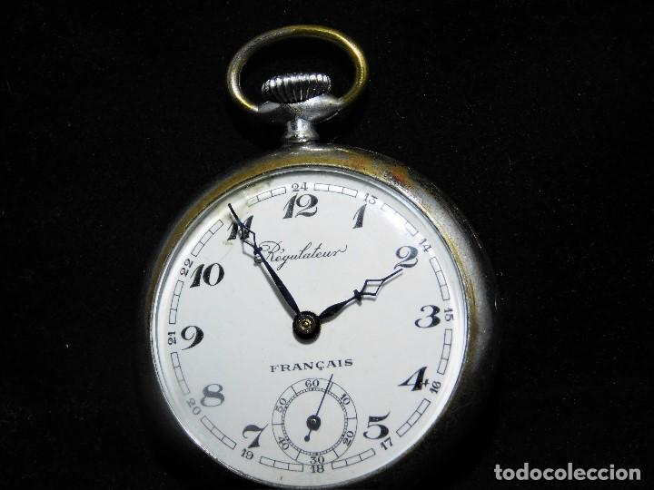 Relojes de bolsillo: REGULATEUR-RELOJ DE BOLSILLO-FRANCIA-CIRCA 1910-FUNCIONANDO - Foto 4 - 130796096