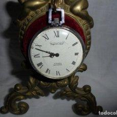 Relojes de bolsillo: RELOJ DE BOLSILLO CARGA MANUAL THERMIDOR.FUNCIONANDO.ESFERA RESTAURADA.SOPORTE NO INCLUIDO . Lote 130798732