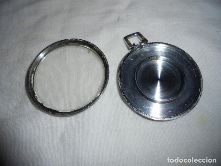 Relojes de bolsillo: RELOJ DE BOLSILLO CARGA MANUAL THERMIDOR.FUNCIONANDO.ESFERA RESTAURADA.SOPORTE NO INCLUIDO - Foto 7 - 130798732