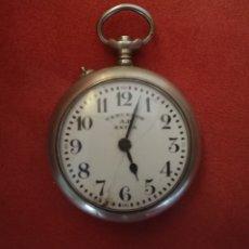 Relojes de bolsillo: RELOJ BOLSILLO VENCEDOR A.B. EXTRA - GRABADO INICIALES Y FECHA 1935. Lote 130912481