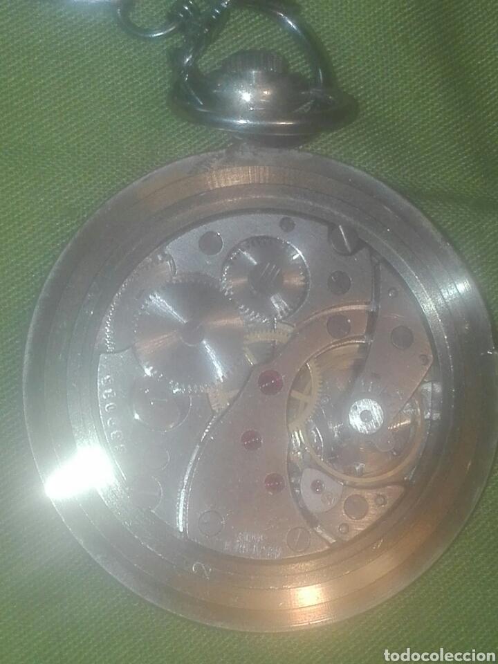 Relojes de bolsillo: reloj de bolsillo molnija en perfecto estado..ver fotos. - Foto 4 - 93854604
