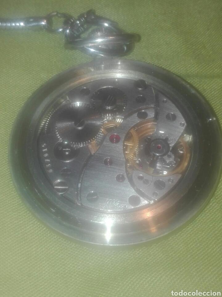 Relojes de bolsillo: reloj de bolsillo molnija en perfecto estado..ver fotos. - Foto 5 - 93854604