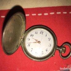 Relojes de bolsillo: RELOJ DE PLATA MUY BONITO. Lote 131168696