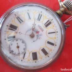 Relojes de bolsillo: RELOJ ANTIGUO DE BOLSILLO MARCA GENIE. Lote 132138426