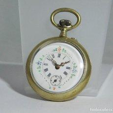Relojes de bolsillo: MUY BONITO RELOJ DE BOLSILLO-CIRCA 1920-FUNCIONANDO-. Lote 132199766