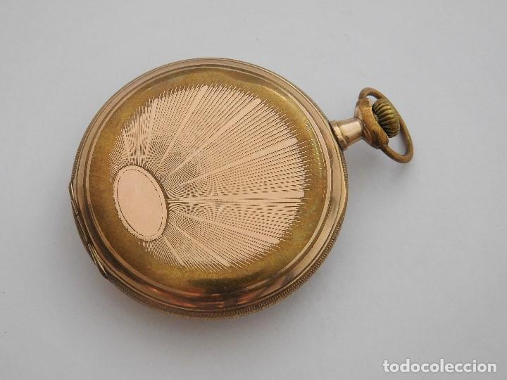 Relojes de bolsillo: CHONOMETRE MODERNE-2 TAPAS-RELOJ DE BOLSILLO-CIRCA 1920-FUNCIONANDO- - Foto 2 - 132204306