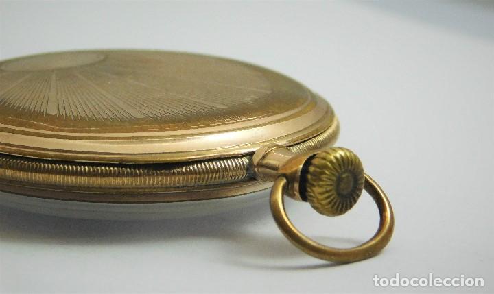 Relojes de bolsillo: CHONOMETRE MODERNE-2 TAPAS-RELOJ DE BOLSILLO-CIRCA 1920-FUNCIONANDO- - Foto 3 - 132204306