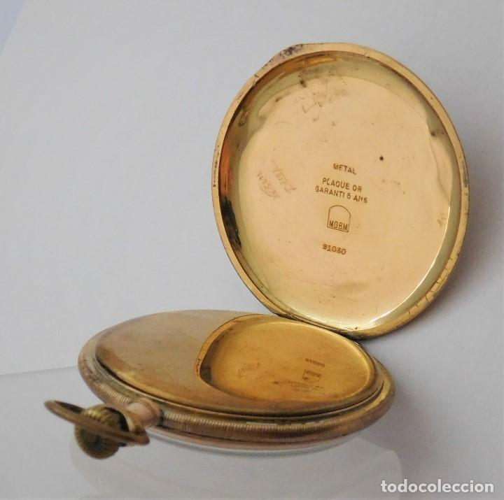 Relojes de bolsillo: CHONOMETRE MODERNE-2 TAPAS-RELOJ DE BOLSILLO-CIRCA 1920-FUNCIONANDO- - Foto 5 - 132204306