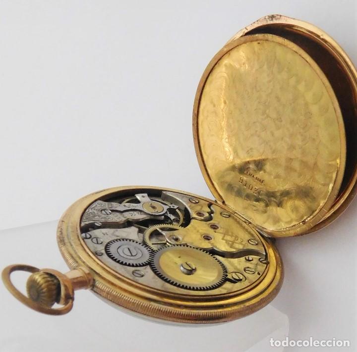 Relojes de bolsillo: CHONOMETRE MODERNE-2 TAPAS-RELOJ DE BOLSILLO-CIRCA 1920-FUNCIONANDO- - Foto 6 - 132204306