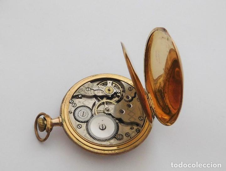 Relojes de bolsillo: CHONOMETRE MODERNE-2 TAPAS-RELOJ DE BOLSILLO-CIRCA 1920-FUNCIONANDO- - Foto 7 - 132204306