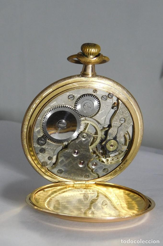 Relojes de bolsillo: CHONOMETRE MODERNE-2 TAPAS-RELOJ DE BOLSILLO-CIRCA 1920-FUNCIONANDO- - Foto 9 - 132204306