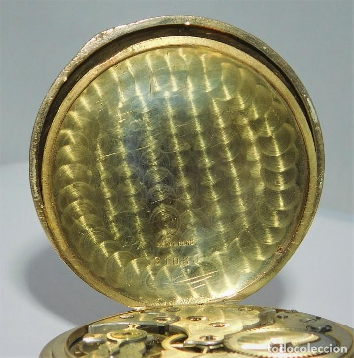 Relojes de bolsillo: CHONOMETRE MODERNE-2 TAPAS-RELOJ DE BOLSILLO-CIRCA 1920-FUNCIONANDO- - Foto 10 - 132204306