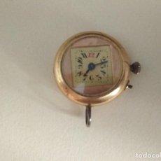 Relojes de bolsillo: RELOJ DE IMPERDIBLE, NO FUNCIONA. Lote 132406174