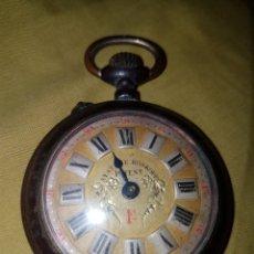 Relojes de bolsillo: ANTIGUO RELOJ BOLSILLO ROSKOPF PRECIOSO. Lote 132521743