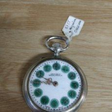 Relojes de bolsillo: RELOJ DE BOLSILLO TIPO ROSKOPF MÁQUINA CINCELADA FUNCIONANDO. Lote 47510757