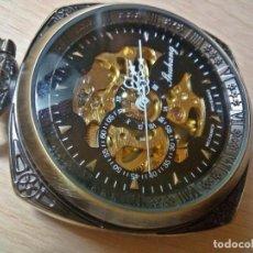 Relojes de bolsillo: RELOJ BOLSILLO, CUADRADO CALIDAD ALTA.. MECANICO.. Lote 133144594