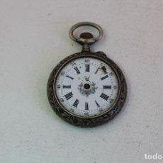 Relojes de bolsillo: RELOJ DE BOLSILLO EN PLATA DE LEY. Lote 133183398