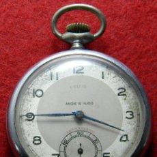 Relojes de bolsillo: RELOJ DE CABALLERO DE CARGA MANUAL MARCA BELLIS - ANCRE 15 RUBIS - CHROMES - DIAMETRO 48 MM -. Lote 154759438