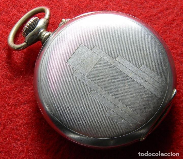 Relojes de bolsillo: Reloj de caballero de carga manual marca Ultra - No funciona - Diametro 44 mm - Foto 2 - 133334074