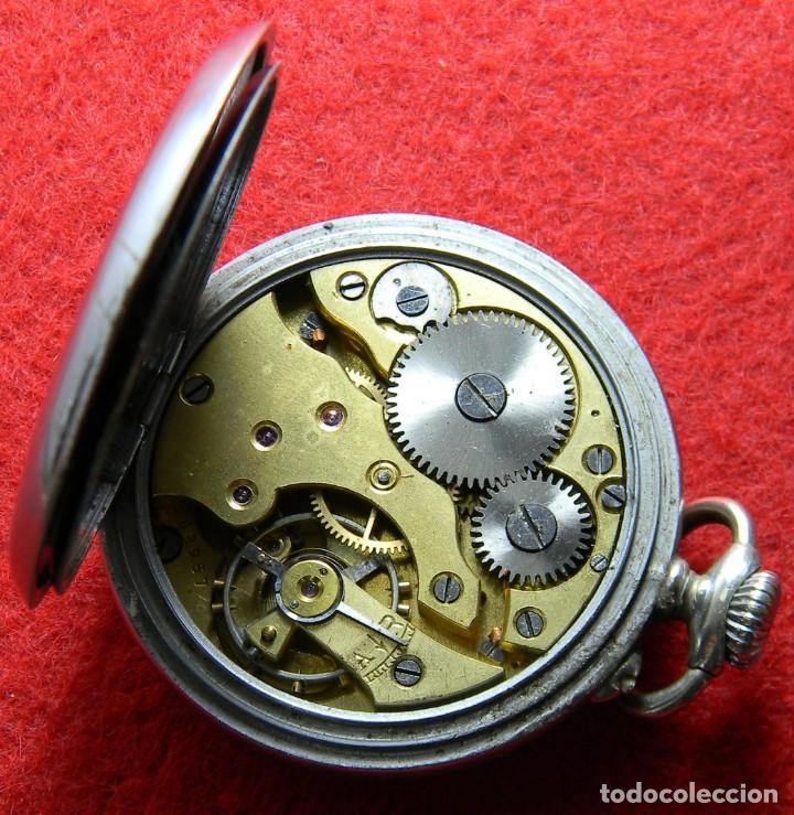 Relojes de bolsillo: Reloj de caballero de carga manual marca Ultra - No funciona - Diametro 44 mm - Foto 6 - 133334074