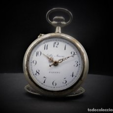 Relojes de bolsillo: RELOJ DE BOLSILLO-ODLA ANCRE PATENT-REMONTOIRE-2 TAPAS-CIRCA 1920-BREVETE SUIZO-FUNCIONANDO-. Lote 133477854