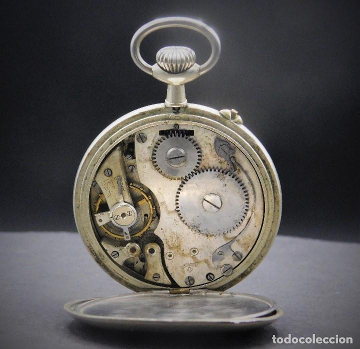 Relojes de bolsillo: RELOJ DE BOLSILLO-ODLA ANCRE PATENT-REMONTOIRE-2 TAPAS-CIRCA 1920-BREVETE SUIZO-FUNCIONANDO- - Foto 3 - 133477854