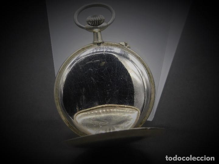 Relojes de bolsillo: RELOJ DE BOLSILLO-ODLA ANCRE PATENT-REMONTOIRE-2 TAPAS-CIRCA 1920-BREVETE SUIZO-FUNCIONANDO- - Foto 6 - 133477854