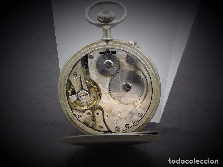 Relojes de bolsillo: RELOJ DE BOLSILLO-ODLA ANCRE PATENT-REMONTOIRE-2 TAPAS-CIRCA 1920-BREVETE SUIZO-FUNCIONANDO- - Foto 7 - 133477854