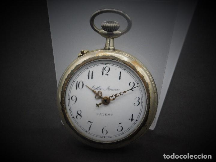 Relojes de bolsillo: RELOJ DE BOLSILLO-ODLA ANCRE PATENT-REMONTOIRE-2 TAPAS-CIRCA 1920-BREVETE SUIZO-FUNCIONANDO- - Foto 10 - 133477854