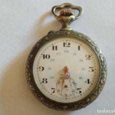 Relojes de bolsillo: RELOJ DE BOLSILLO CABALLERO, FUNCIONANDO NECESITA REVISION, MEDIDA 50 MM, LABRADO. Lote 133597326