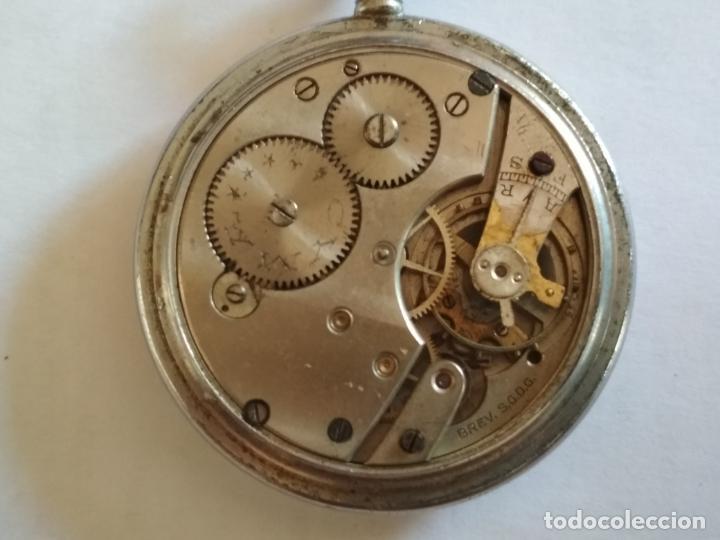 Relojes de bolsillo: RELOJ DE BOLSILLO, MARCA CYMA, NO FUNCIONA, MEDIDA 50 MM, ACERO - Foto 3 - 216505570
