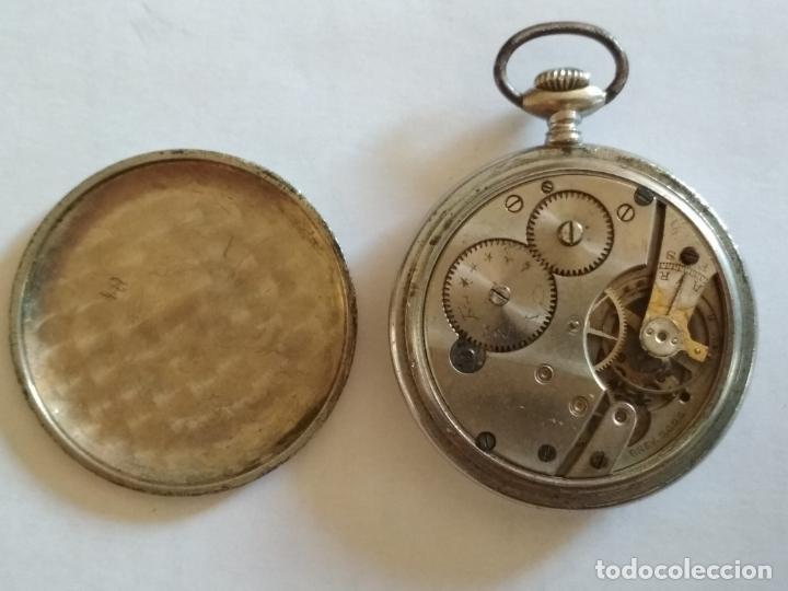 Relojes de bolsillo: RELOJ DE BOLSILLO, MARCA CYMA, NO FUNCIONA, MEDIDA 50 MM, ACERO - Foto 4 - 216505570