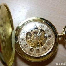 Relojes de bolsillo: RELOJ DE BOLSILLO GOLDMEN MECANICO.. Lote 134075946