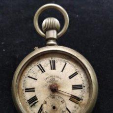 Relojes de bolsillo: ANTIGUO RELOJ DE BOLSILLO. Lote 134255590