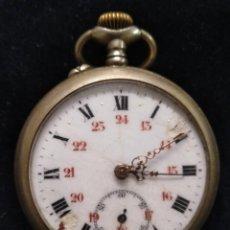 Relojes de bolsillo: ANTIGUO RELOJ DE BOLSILLO CON SEGUNDERO. Lote 134255762