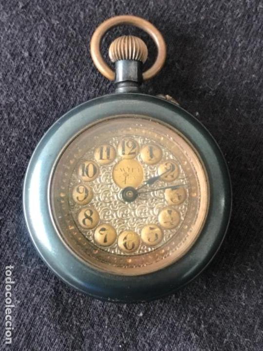 RELOJ DE MONJA LA MERVEILLE 1900'S. VER FOTOS ANEXAS. (Relojes - Bolsillo Carga Manual)