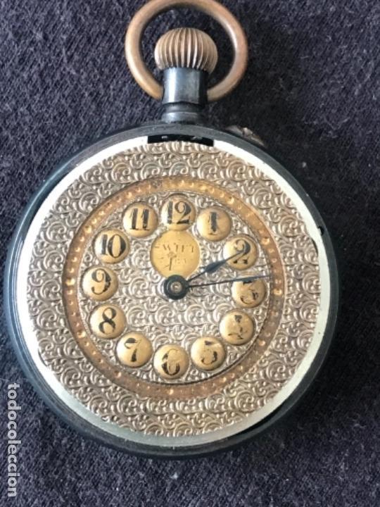 Relojes de bolsillo: RELOJ DE MONJA LA MERVEILLE 1900'S. VER FOTOS ANEXAS. - Foto 6 - 134477762