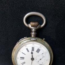 Relojes de bolsillo: RELOJ DE BOLSILLO SABONETA SIGLO XIX. Lote 134545197