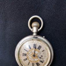 Relojes de bolsillo: RELOJ DE BOLSILLO SABONETA SIGLO XIX. Lote 134547579