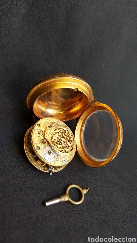 Relojes de bolsillo: RELOJ DE BOLSILLO F. SHIRWILL LONDON SIGLO XVIII - Foto 2 - 134763773