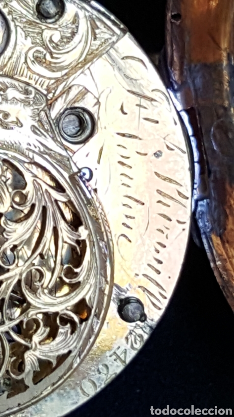 Relojes de bolsillo: RELOJ DE BOLSILLO F. SHIRWILL LONDON SIGLO XVIII - Foto 5 - 134763773